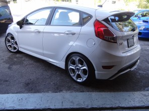 Ford Fiesta ST on H&R Street Performance Coilover Suspension