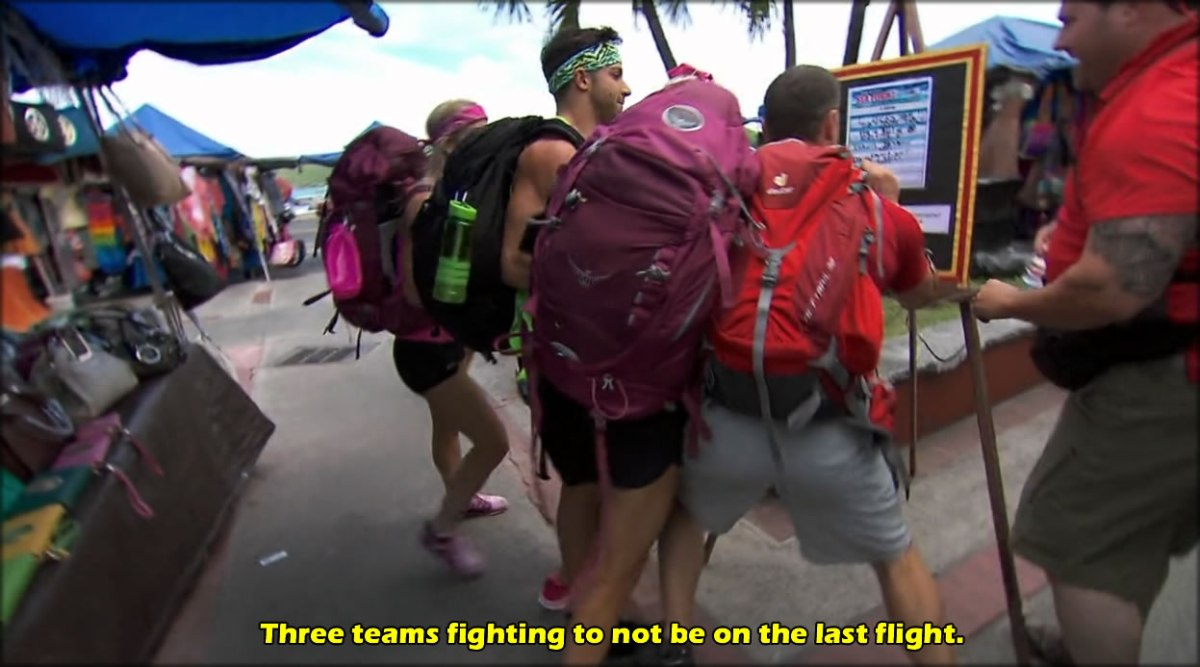Amazing Race: Instant Karma for Rudeness