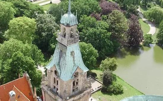 Hannover, arrivare alla torre del Rathaus