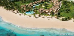 Vista Aerea del Zoetry Agua: Punta Cana