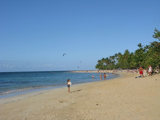 Playa Las Terrenas, Samana 18-02-12