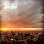 Hermoso Atardecer de La Ciudad de Santo Domingo