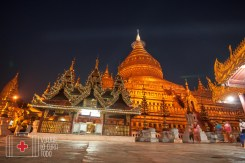 Templo budista en Myanmar