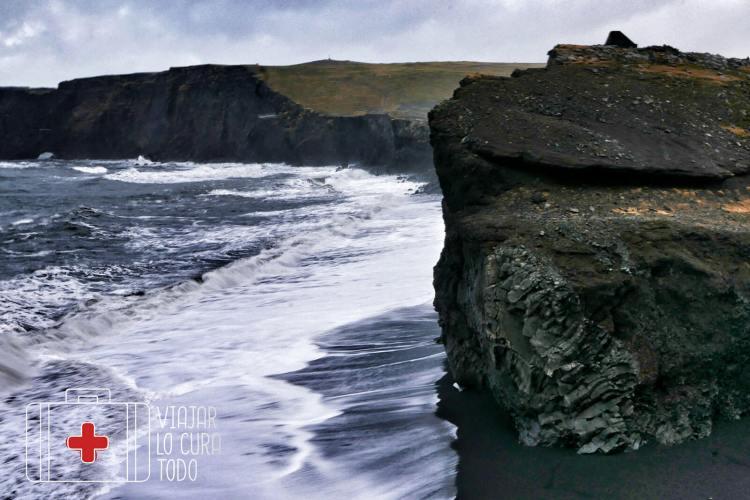 Dyrhólaey beach Iceland