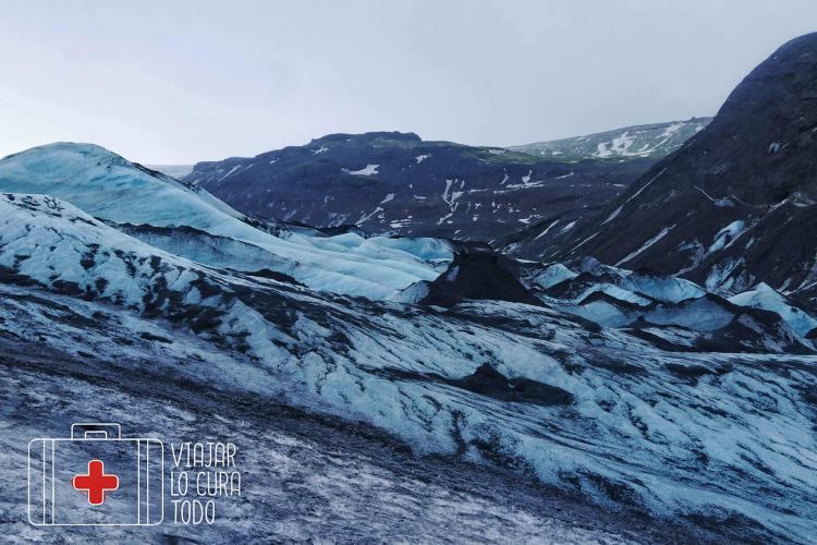 Sólheimajokull glaciar
