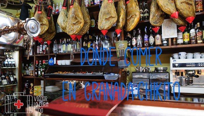 Dónde comer en Granada: Chikito