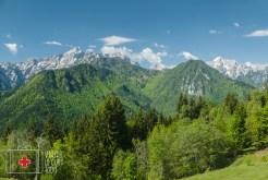 panoramic road Slovenia
