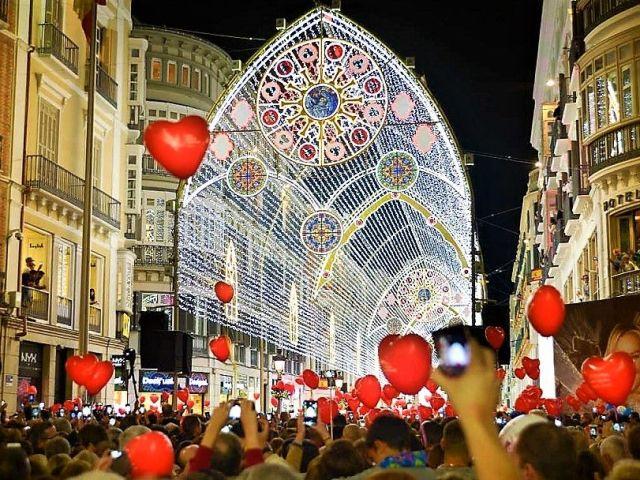 Ranking de destinos europeos con las mejores luces navideñas