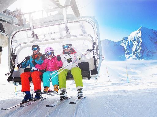 Alpes y Dolomitas con esquís gratis