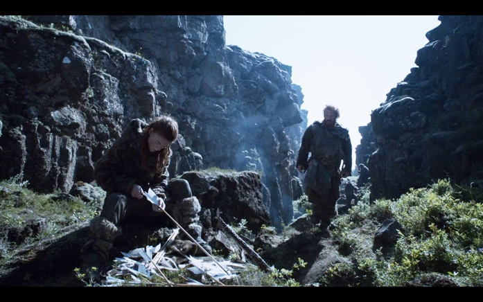 Ygritte and Tormund prepare for battle