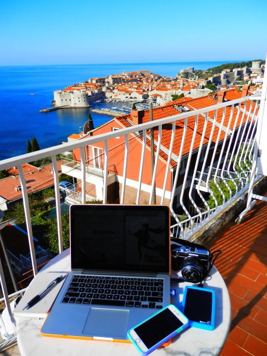 Inspiring view of Dubrovnik/Kings Landing
