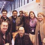 Con Frenchy Ouviña, Pablo J Melian, Juan G. Belmonte, Alfredo Vela, Marco Volador, P.Plaza y Almudena García