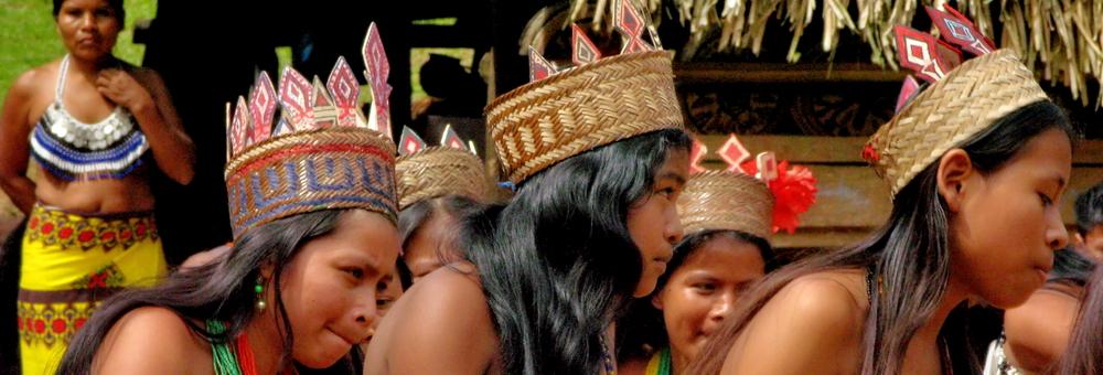 Los indígenas Emberá del Parque Nacional del río Chagres