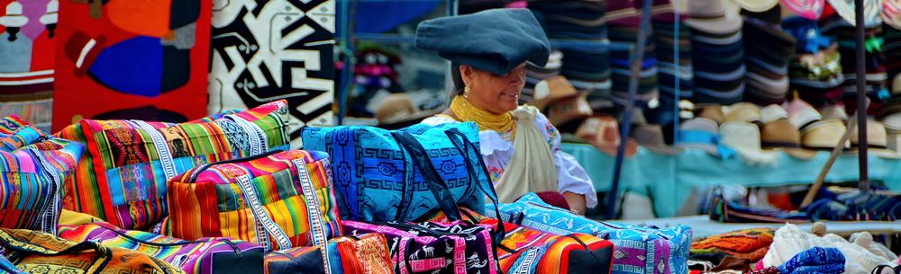 El Mercado de Artesanías de Otavalo, el más famoso de Sudamérica