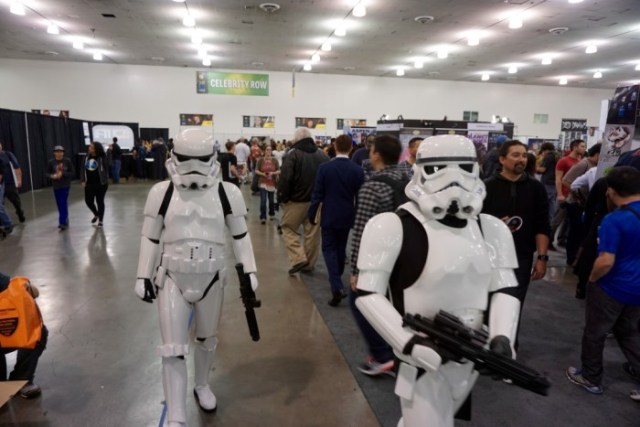 Stormtroopers do Star Wars