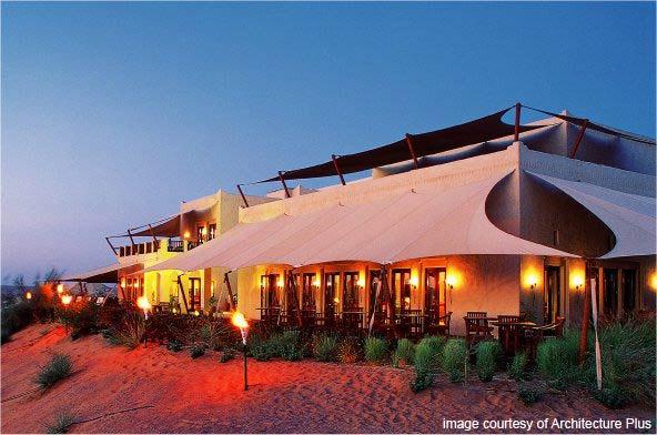Au coeur du désert, l'hôtel Al Maha  hôtels de Luxe à Dubaï