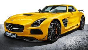 AMG SLS Black Series sur Viaprestige