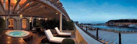 hôtels de luxe à Monaco