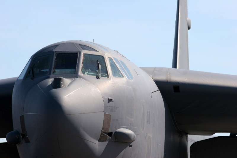 Louisiana Flexes B-52 Muscles Over Europe In November