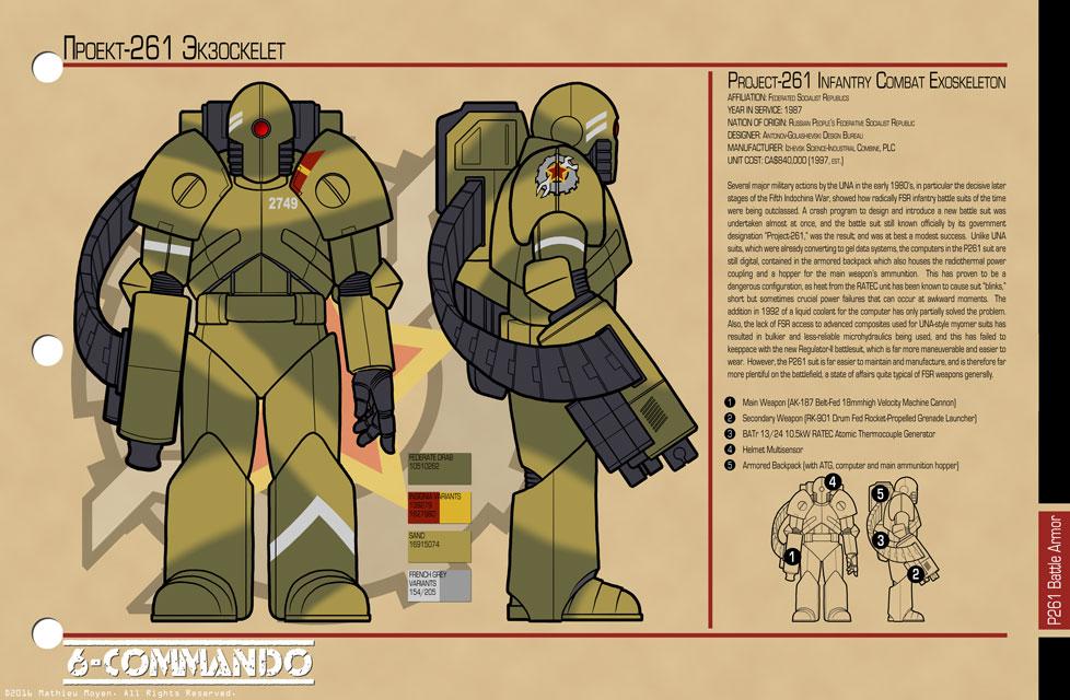 Project-261 Infantry Combat Exoskeleton