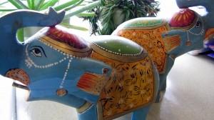 Thrifting Thursday - My Haul - Indian Elephants