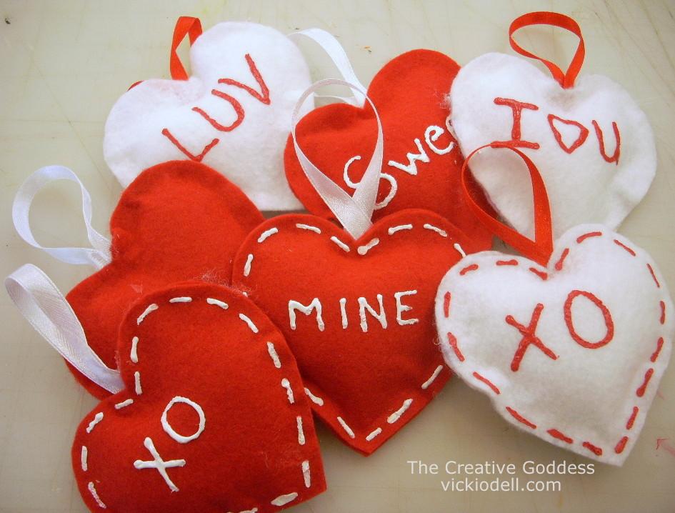Sew Felt Valentine
