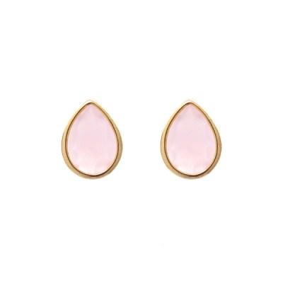 Jules Bridesmaid Earrings – Rose