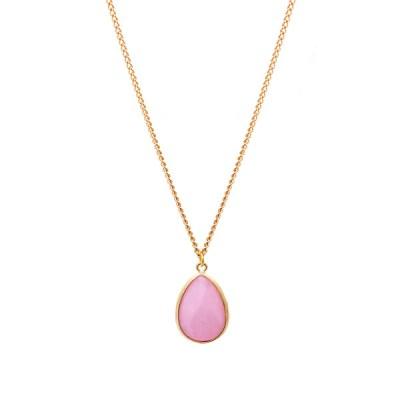 Gemma Bridesmaid Necklace – Opaque Pink