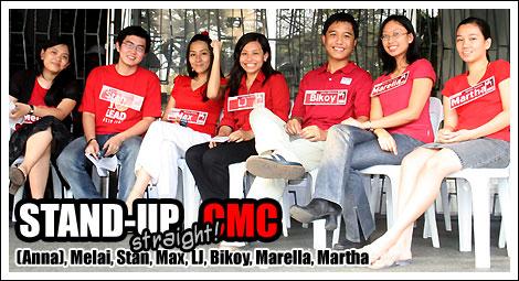 STAND-UP straight CMC!