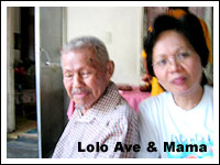 Lolo Ave and Mama