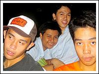 Toff, Patch, Lui, Jacob