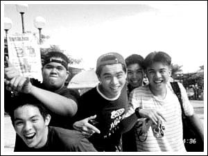 Raf, Kenny, Andrew, Erik, Cid