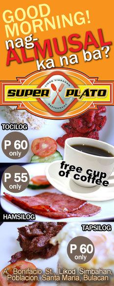 Super Plato: Good Morning! Nag-almusal ka na ba?