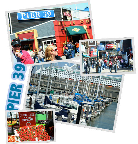 Pier 39, San Francisco, California, USA