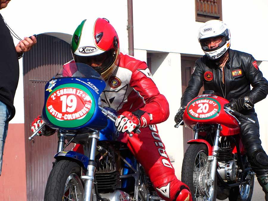 Motos Clásicas de Colombres 2014: Las carreras