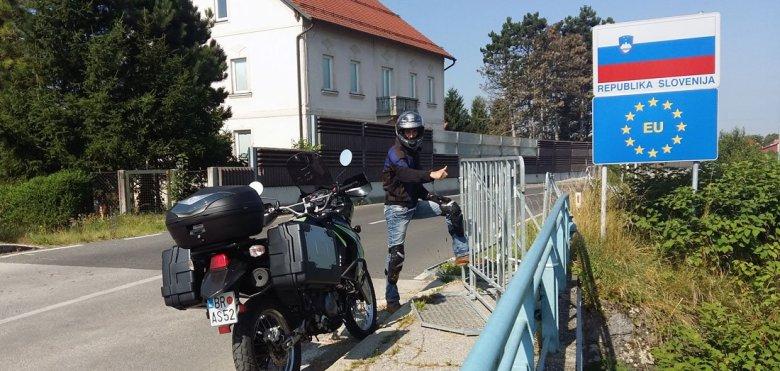 Frontera Croacia - Eslovenia