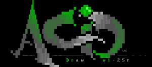 A high-quality ANSI Logo from AcidDraw, my favorite ANSI editor.