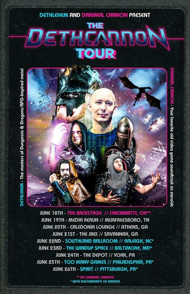 Danimal Cannon Summer Tour