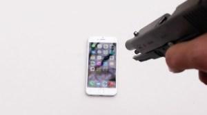 Τι γίνεται αν πυροβολήσεις ένα iPhone 6;
