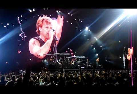 BON JOVI LIVE IN ATHENS GREECE BAD NAME