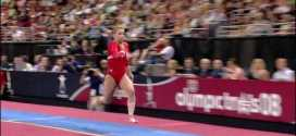 Alicia Sacramone Vault 2008 Olympic Trials Day 1