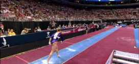 Shawn Johnson Vault 2008 Olympic Trials Day 2
