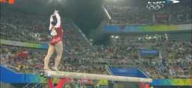 Cheng Fei Balance Beam Olympics Events Final Beijing 2008