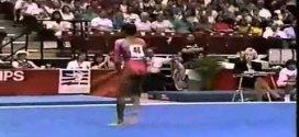Dominique Dawes Floor Exercise US Nationals