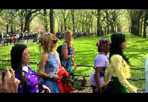 Glee Cast in Central Park