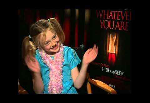 My first interview with cutie Dakota Fanning 2005