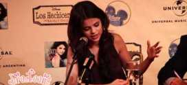 Selena Gómez habla sobre sus fans para DIRECTEENS com ar antes de su show del 4 2 11 en Argentina