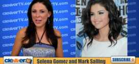 Selena Gomez Mark Salling A new couple alert