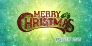 Merry Christmas Animated Motion Background Loop