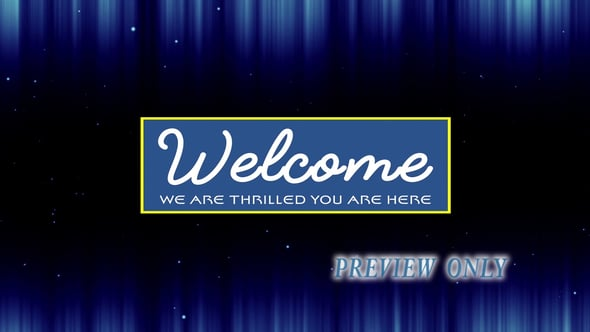 Thrilled You Are Here: Welcome Video